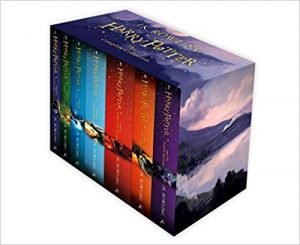harry potter book box set image