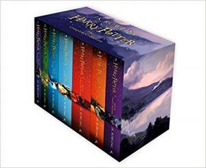 harry potter book box set image