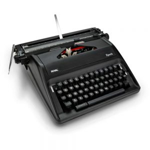 Royal Epoch Portable Manual Typewriter Image