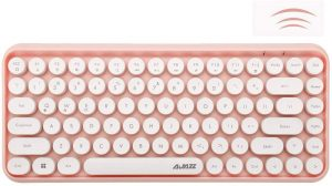 Wireless Bluetooth Keyboard - Mini Portable 84-Key Typewriter